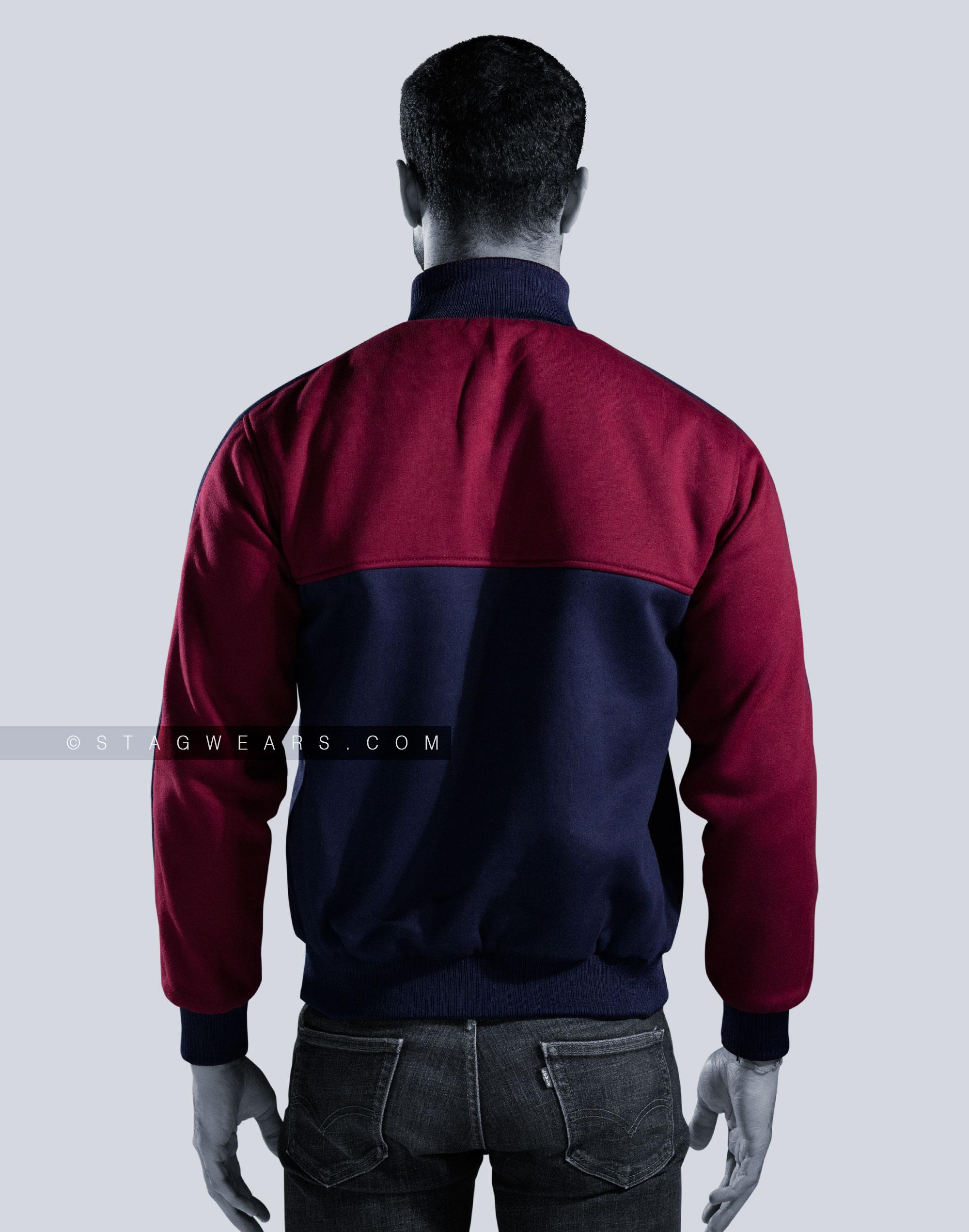 Custom Fleece Reversible Track Jackets | Sporty & Comforting